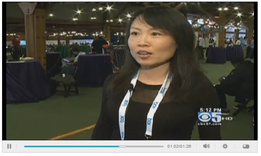 Froomz on CBS News