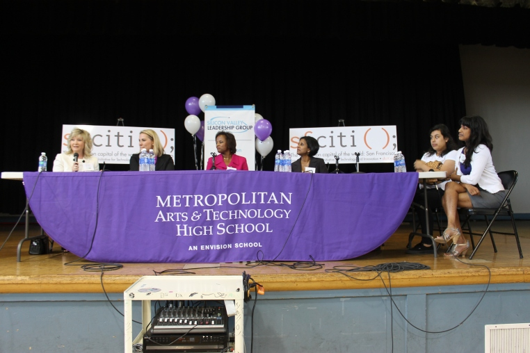 L-R: Ellen Barker, Amy Lynch, Loretta Walker, and Dineli Wickramasinghe