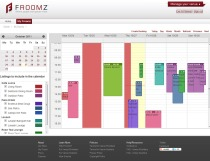 Calendar Based Venue Manager | Froomz.com