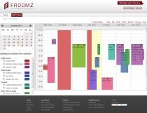 Calendar Based Venue Manager | Froomz.com