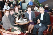 Pam Quidachay, Daly City Library Board of Trustee Erlinda Galeon, Carmen Hernandez, Anita Sanchez and Judge Ron Quidachay | FroomzBlog