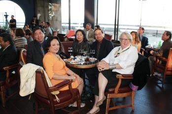 Rodel Rodis, Edna Rodis, Ernie Llorente and Nancy Harrington of Books for the Barrios | FroomzBlog