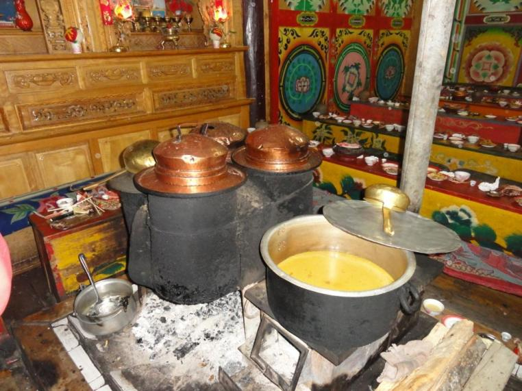 Traditional Tibetan Kitchen