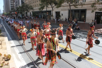 Igorot Dancers at Pistahan Parade | FroomzBlog