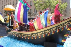 Colorful Vinta at Pistahan Parade | FroomzBlog