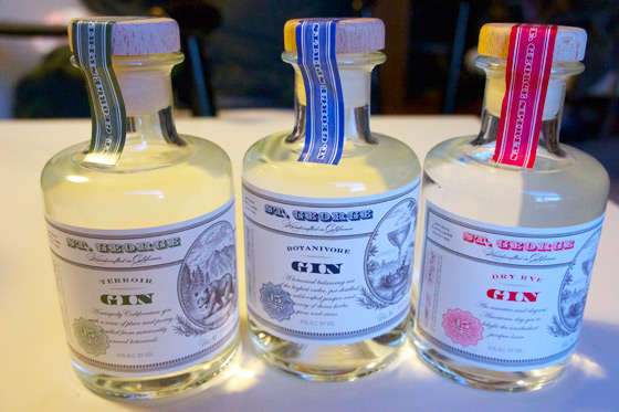 St. George Gin featured at Commonwealth Club Locavore | FroomzBlog