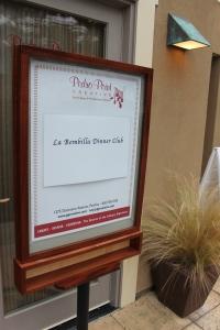 La Bombilla Dinner Club | FroomzBlog
