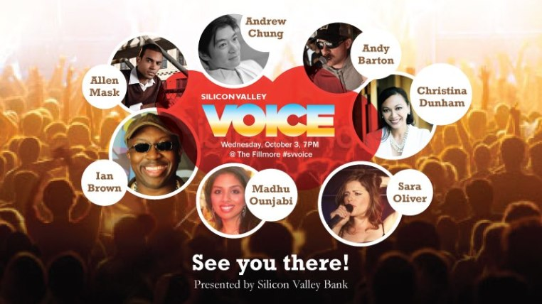 Silicon Valley Voice Finalists | Froomzblog