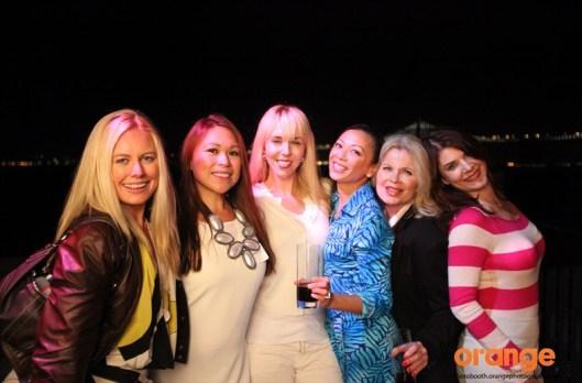 Collette Simko Knauss - Paulina Lopez - Courtney McQuade - Christina Dunham - Marie Scinto - Victoria Callor -130410_PBX-Exploratorium_Terrace Photo 1