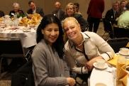 Karina Calayag and Collette Simko at Skyline Presidents Breakfast 130321- (11)