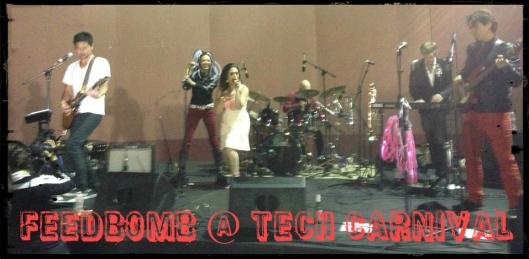 Feedbomb at TechCarnival 2013