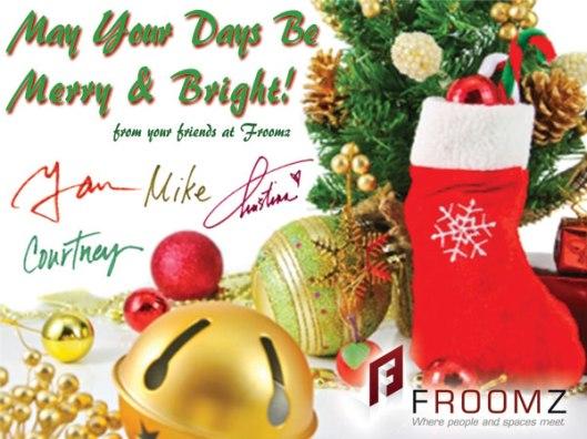 Froomz Christmas Greeting_2013